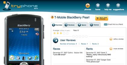 TryPhone, prueba el móvil antes de comprarlo