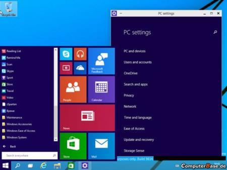 Windows 9 en acción: primer vídeo del nuevo menú inicio
