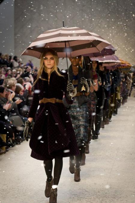Burberry en la Semana de la Moda de Londres