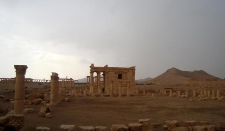 Baal Shamin In The Historical City Of Palmyra Syria
