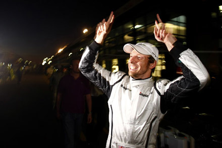 Jenson Button podría tener medio título en el bolsillo