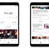 Google prueba un nuevo diseño para Discover: más limpio y sin barra de búsqueda