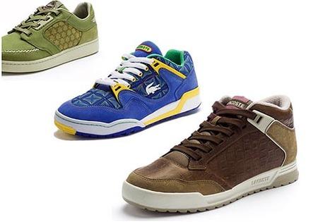 Sneakers de Lacoste en piel de cocodrilo