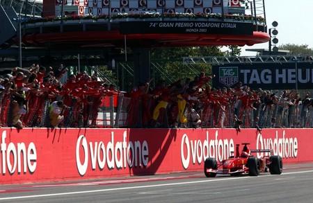 Schumacher Monza F1 2006