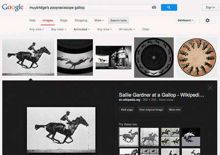 Google ya permite hacer búsquedas de .gif animados