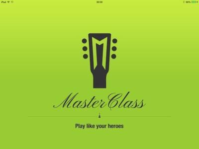 MasterClass, aprende a tocar la guitarra con el iPad