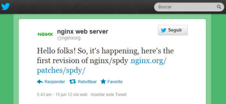 NGINX comienza a soportar SPDY