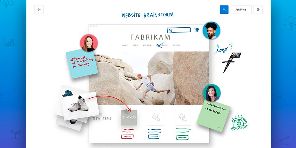 La pizarra virtual de Microsoft℗ ya en Android: comparte ideas durante las videollamadas con Whiteboard