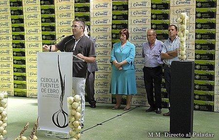 Crónica de la presentación y el primer etiquetado de la D.O.P Cebolla Fuentes de Ebro