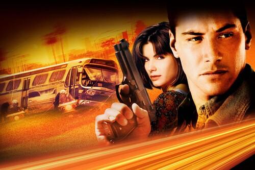 'Speed: Máxima potencia': una de las mejores películas de acción de los 90 que lanzó como estrellas a Keanu Reeves y Sandra Bullock