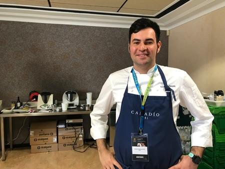 Nicolás Reyes, jefe de cocina de Cañadío Madrid