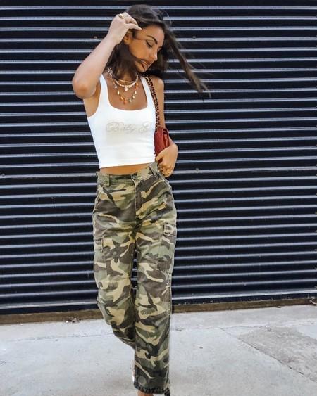 Pantalones Cargo Street Style 04