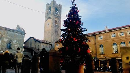 Plaza Vieja Bérgamo Navidad