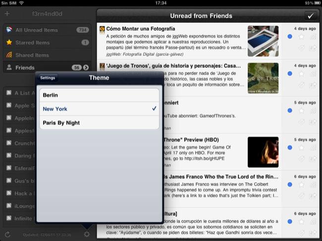 Foto de Lectores RSS para el iPad (13/20)