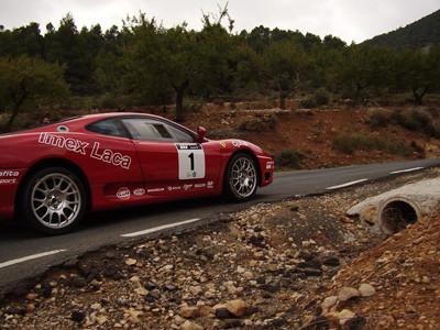 ¿Un Ferrari en el nacional de rallyes?