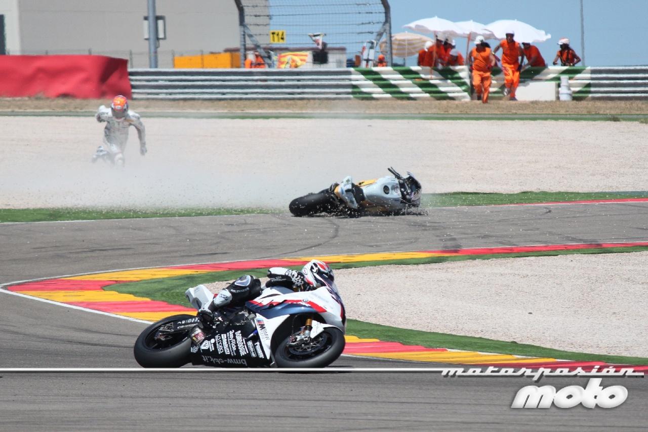 Foto de Superbikes España 2011: Caída  Jakub Smrz (3/13)