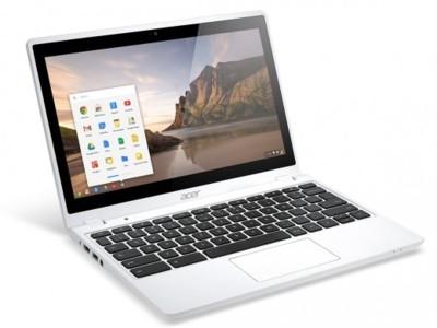 Acer Chromebook C720P se viste de blanco