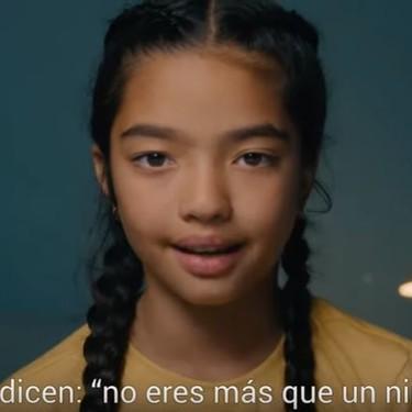 """""""No eres más que un niño"""": la campaña de Unicef por el Día Universal del Niño que demuestra el poder de los niños"""