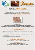 Música con-tacto, taller de musicoterapia y masaje en Marbella