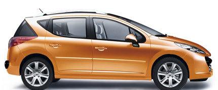 Fotos oficiales del Peugeot 207 SW