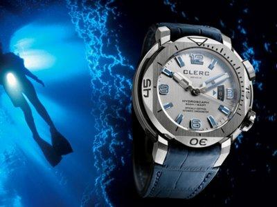 Magníficos relojes sumergibles de fuerte carácter: Clerc Hydroscaph H1