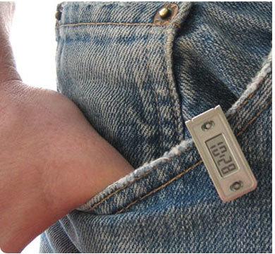 Tempo Tag, mini reloj con clip