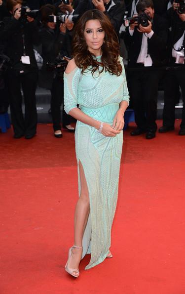 El día que Eva Longoria enseñó hasta la entretela en el Festival de Cannes