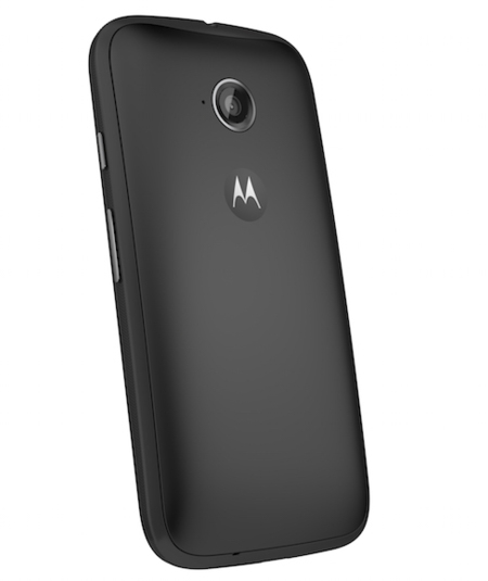 Moto E 2nd Gen Back Dynamic Black