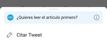 Twitter no deja hacer RT: por qué a veces te obliga a citar al compartir y cómo hacer un retweet normal