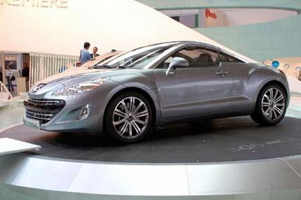 Peugeot fabricará un coupé basado en el 308 RC-Z Concept