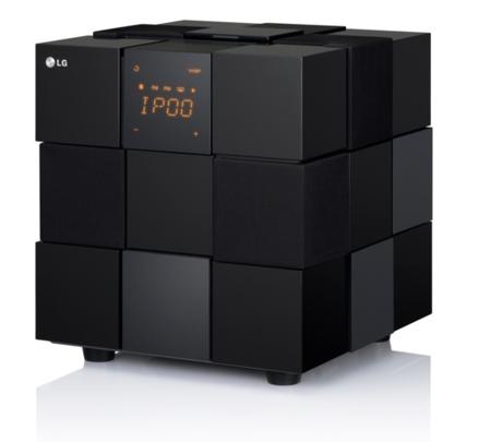 LG le pone un toque de buen diseño a sus primeras bases de audio