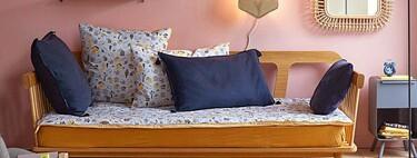 Este sofá cama de las segundas rebajas en La Redoute tiene el diseño vintage que deseamos y toda la funcionalidad que necesitamos