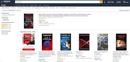 Avalancha de libros plagiados y/o pseudocientíficos sobre el coronavirus, que se cuelan entre los más vendidos de Amazon.com