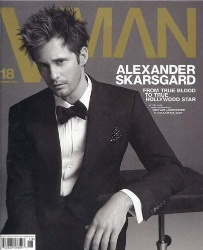 Alexandar Skarsgard está guapo hasta con estos pelos