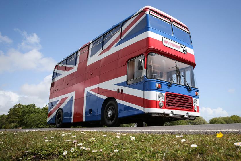 Duerme en el bus de las Spice Girls y siéntete como si estuvieras de gira con ellas