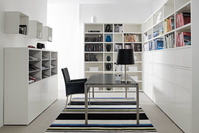 Zonas de trabajo (II): espacio central