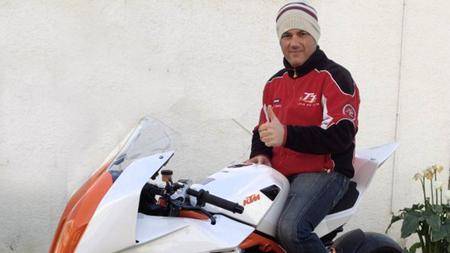 Antonio Maeso contará con una KTM RC8R de parte de la fábrica