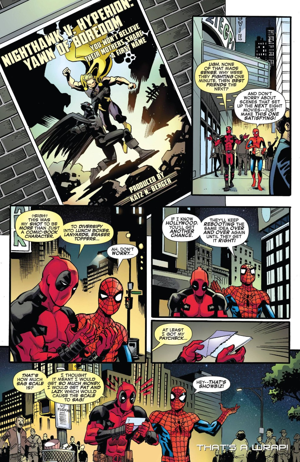 Marvel se ríe de Batman V Superman