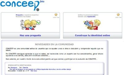 La página de preguntas y respuestas Conceep comparte sus ganancias con la comunidad