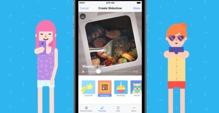 Facebook te permitirá crear vídeos con tus fotografías
