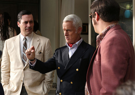 Don Draper y Roger Sterling Casual Friday