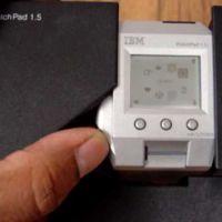 Imagen de la semana: la corona digital del Apple Watch ya estaba en un reloj de IBM... en el 2001