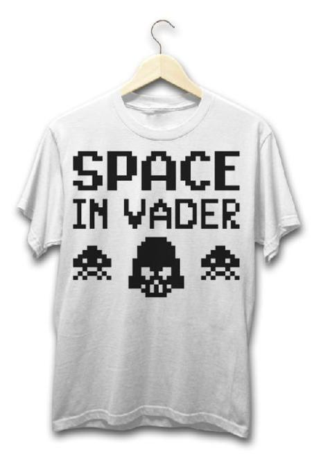 Camiseta Space In Vader