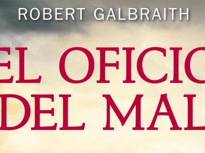 Mañana sale a la venta la nueva entrega policíaca de J.K.Rowling, 'El oficio del mal'