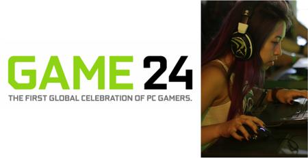 NVIDIA convoca a gamers de todo el mundo con evento #GAME24 para el 18 de Septiembre