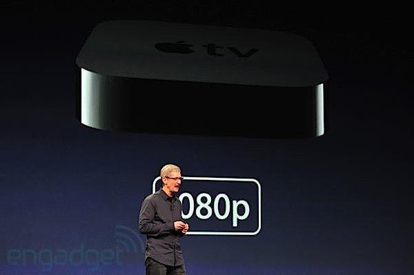 Nuevo Apple TV, ahora con 1080p