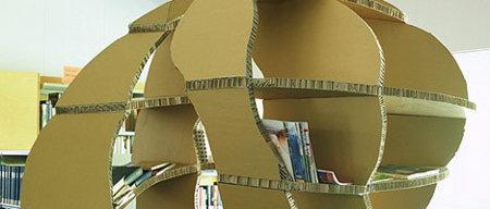 Bibliotecas de cartón