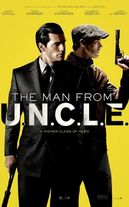 Cartel de The Man From Uncle