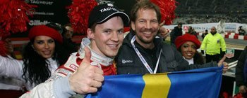 Mattias Ekstrom gana la Carrera de Campeones