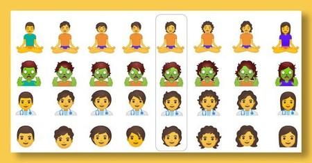 Non Binary Emoji Google 3